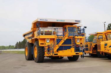 Самосвалы БЕЛАЗ-7513С на газодизельном топливе запускаются в серийное производство