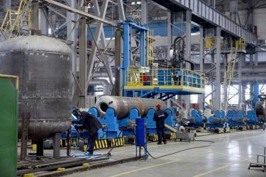 Белгородский завод ОМК после модернизации вдвое увеличил выпуск котельного оборудования