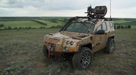 В Ставропольском крае разработали малогабаритный бронеавтомобиль