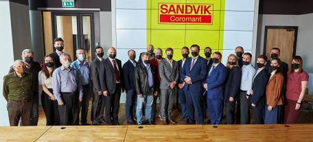 От производственного проекта до реализации с Sandvik Coromant