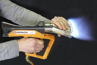 Газовый термоупаковочный пистолет RIPACK 3000: чем обеспечивается безопасность процесса работы?