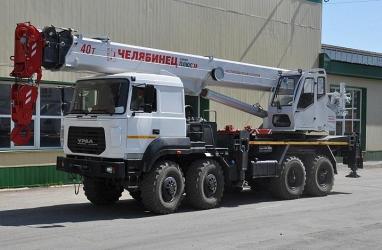 Челябинский механический завод выпустил новую модель автокрана на шасси «УРАЛ»