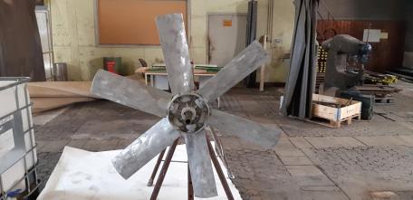 Защита лопастей вентилятора от высокотемпературной коррозии c помощью MeCaСorr© 750
