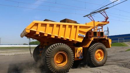 «БЕЛАЗ» представил опытную модель дизель-троллейвоза