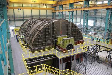 «Силовые машины» спроектировали и изготовили первую отечественную тихоходную турбину для АЭС