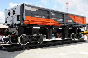 Уралвагонзавод представляет на «Иннопроме» железнодорожную технику