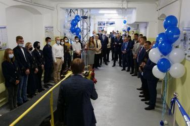 Учебная аудитория БЕЛАЗ открыта  в Уральском государственном горном университете