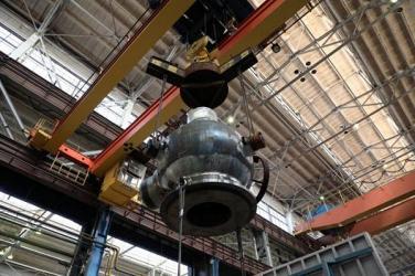 «Петрозаводскмаш» успешно провел грузовые испытания корпусов насосов для АЭС «Аккую»