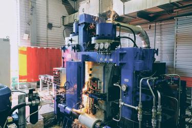 На ЕВРАЗ ЗСМК открыта рельсосварочная лаборатория