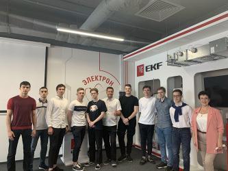 Студенты МЭИ прошли производственную практику в EKF