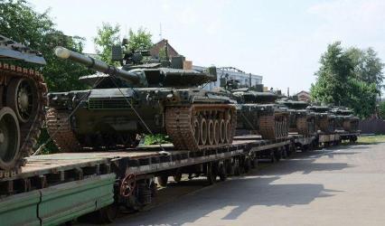 Омсктрансмаш Ростеха отправил в войска первую партию Т-80БВМ