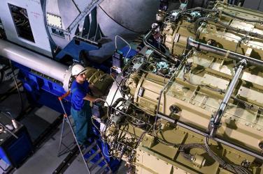 ОДК укомплектовала дизель-газотурбинными агрегатами фрегат «Адмирал флота Советского Союза Исаков»
