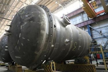 Петрозаводскмаш завершил сборку первой ёмкости системы безопасности для Курской АЭС-2