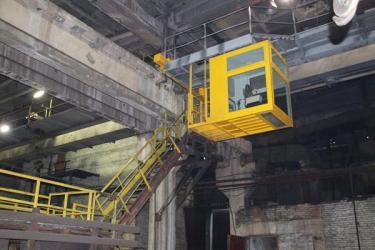 На Гурьевском МЗ запущено новое подъемное оборудование