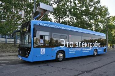 В Москве собраны и переданы в адрес ГУП «Мосгортранс» первые 60 электробусов КАМАЗ