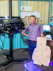 Новый оптический сканер на литейном заводе «КАМАЗа»