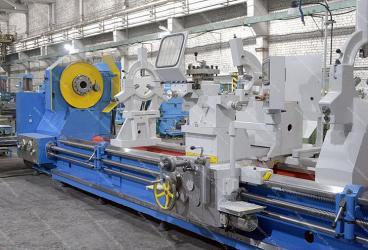 Рязанский Станкосервис сдал заказчику тяжёлый токарный станок РТС317Ф1-6