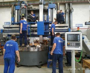 Завод имени Седина отмечает 110-летний юбилей выпуском новых станков