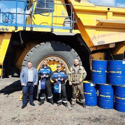 БЕЛАЗ наградил лучших водителей в День шахтера