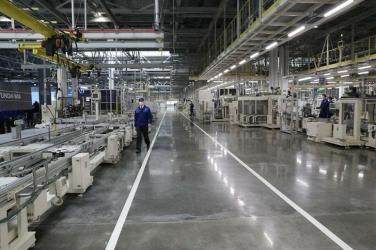 Компания «Хендэ Мотор» открыла в Санкт-Петербурге моторный завод