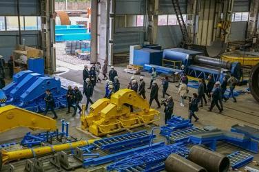 Завод «СММ-Тяжелое машиностроение» вышел на полную производственную мощность