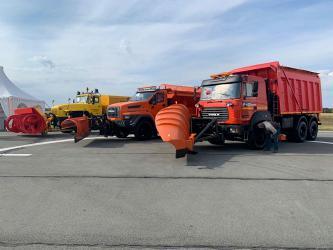 «Уралы» на ведущей машиностроительной выставке «СтройДорЭкспо-2021»