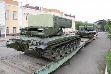 Омсктрансмаш передал российской армии партию ТОС-1А
