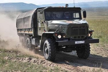 Военный «Дакар»: победа за «Уралом»