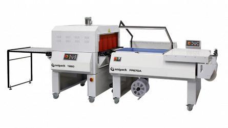 Полуавтоматическая угловая упаковочная машина Smipack FP870A