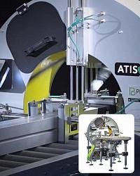 АЛДЖИПАК: автоматический орбитальный горизонтальный обмотчик ATIS 50