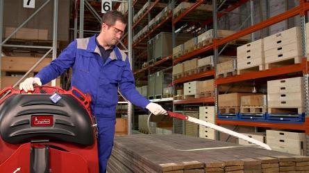 Технология беспаллетной упаковки длинномерной продукции от ErgoPack.