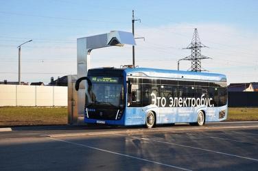В Белгороде проходит тестовую обкатку первый электробус