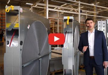 Вращающиеся регенераторы  в агрегатах для вентиляции и кондиционирования  компании VTS
