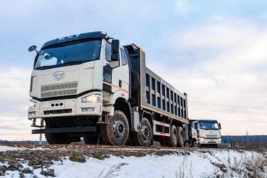 Продажи грузовиков FAW в России за три месяца увеличились на 189,6%