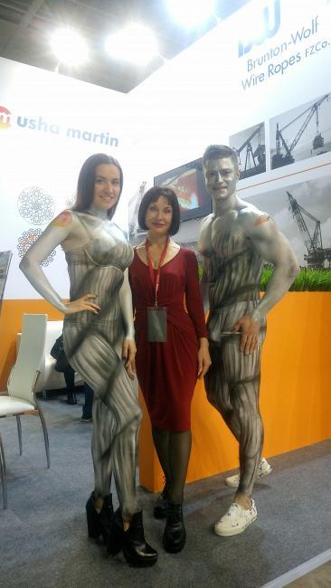 Международная выставка строительной техники и технологий bauma CTT RUSSIA 2018