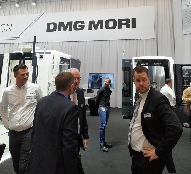 Пресс-конференция DMG MORI в рамках домашней выставки на заводе DECKEL MAHO