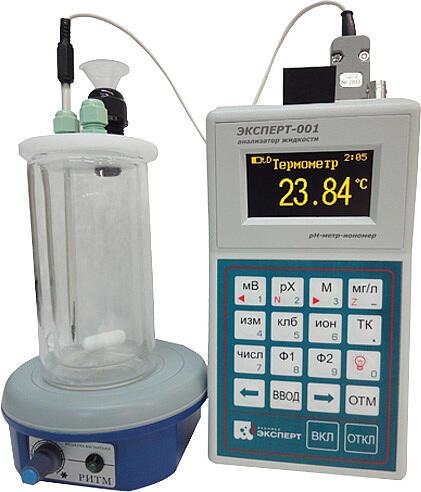 Калориметр «Эксперт-001К» для работ студенческого практикума по общей химии