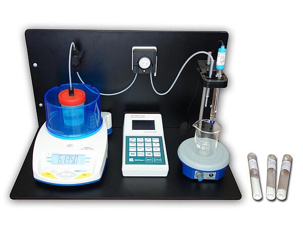 Лабораторный комплект для определения титруемой кислотности молока и молочных продуктов «Титрион-Милк»