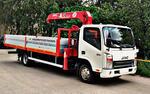 JAC Motors N-75 надстройка Борт+КМУ