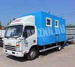 JAC Motors надстройка фургон-мастерская