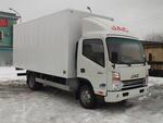 JAC Motors N-75 надстройка Промтоварный фургон