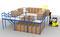Мезонинные стеллажи для хранения и комплектации заказов