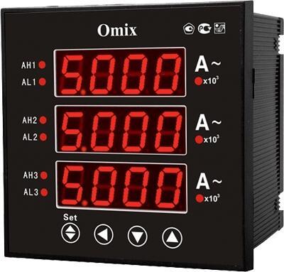 Амперметр цифровой Omix P99-AX-3-0.5-3K