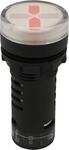 Индикаторная светодиодная лампа AR-AD16-22DRS