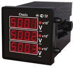 Вольтметр цифровой Omix P44-VX-3-0.5