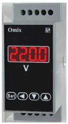 Вольтметр постоянного тока на DIN-рейку Omix D2-DV-1-0.5