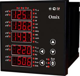 Мультиметр трехфазный щитовой Omix P99-M-3-0.5