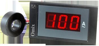 Амперметр однофазный щитовой Omix PQ74-A1-1-N2