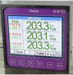 Анализатор параметров трехфазной сети  с регистрацией Omix P1414-MA-3R