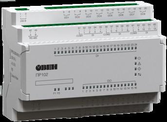 Программируемое реле на 40 каналов ввода/вывода ОВЕН ПР102